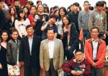 創辦人許文志博士應邀擔任「士心講座」首場演講人主講「存誠務實之創業精神」,吸引數百名師生聆聽的活動照片