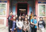 國際暨兩岸事務處舉辦「國際學生台灣文化體驗」實地華語教學、手作體驗課程,快樂學習效果佳的活動照片