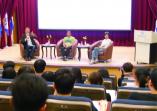 知名導演魏德聖應邀到本校分享及演講「導演的創作生涯--我的人生52赫茲!」的活動照片