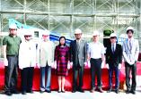 「學生活動中心暨體育館新建工程」於10月24日吉時舉行上樑典禮的活動照片