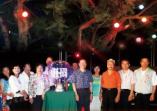 「幸福~從這裡開始」夫妻樹點燈儀式隆重舉行幸福莊園揭開序幕的活動照片