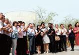 「愛在環球 幸福莊園」創新轉型計畫成果發表會與績優業者締結策略聯盟並現場展演精彩婚宴的活動照片