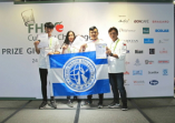 本校觀光餐飲旅館系選手參加「2018年新加坡FHA國際廚藝挑戰賽」,榮獲1金1銀1銅的活動照片