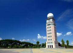 「環球科技大學愛月樓」獲選為2017台灣燈會百大景點之一,全校師生歡迎鄉親春節期間到美麗的校園踏青、享受香濃咖啡的活動照片