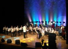 「夏の饗宴-感恩音樂之旅 日本明治大學曼陀林OB俱樂部台灣巡迴演奏會」在高雄、雲林演出,吸引近三千餘人到場聆賞,被譽為樂壇的盛事的活動照片