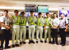 應用外語系學生到航空業實習,能力與態度受肯定的活動照片