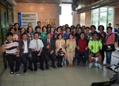 本校11月1日上午11時舉辦「樂齡大學」揭牌儀式的活動照片