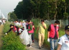 「世界公民,從簡單做起!」環球科技大學11月22日舉辦敦親睦鄰環境保護社區服務活動的活動照片