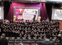 環球科技大學響應政府的新南向人才培育計畫,85名海青班學生歡慶畢業,逾200名家長專程來台見證子弟的盛典的活動照片
