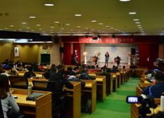 """本校於11月28日舉辦「107環球好聲""""英""""」英語歌唱比賽的活動照片"""